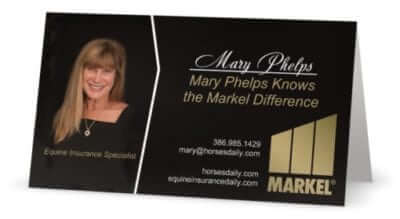Mary New Business Card